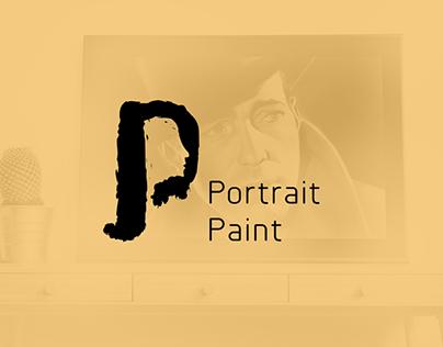 Logo Design For Portrait Paint