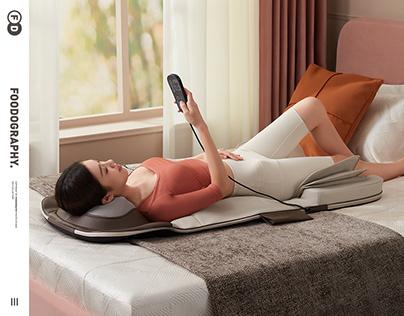大健康产品摄影Great health | keepfit气压按摩垫massage ✖ foodography