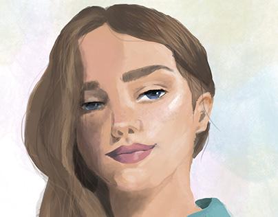 Bianca - Digital Painting