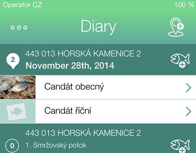 iFishBook App Design