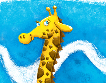 Girafa - passo a passo