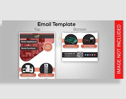 Free Home Appliances Email Template