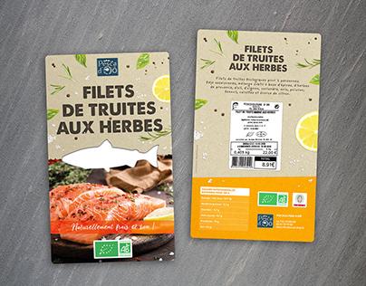 Packaging et Identité Pesca d'Oô