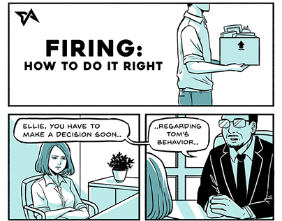 Firing: How to do it right - a short comic
