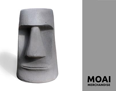 MOAI : Merchandise Design