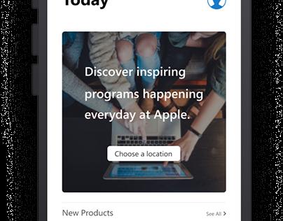 SGA 0.2- Apple.com App Concept