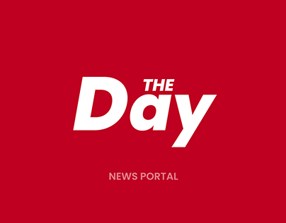 The Day - News portal | UX UI Website design