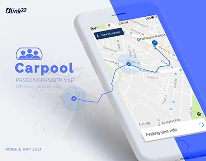 CarPool App@Mobile Design
