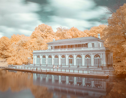 Brooklyn Boathouse in Infrared
