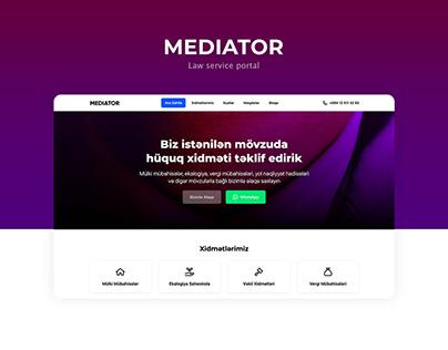 Mediator - Law Service Portal
