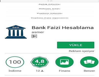 Bank Faizi Hesablama