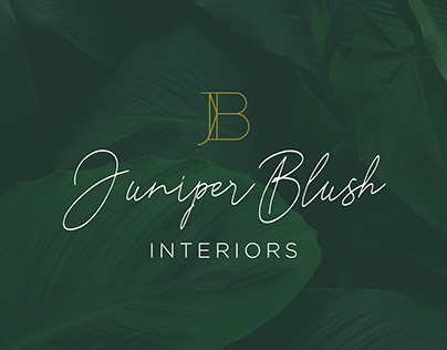 Juniper Blush Interiors - Identity Design