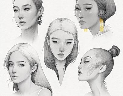 Fashion Portraits 2020 II