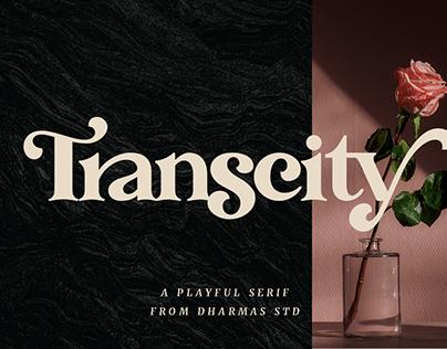 Transcity - A Playful Serif