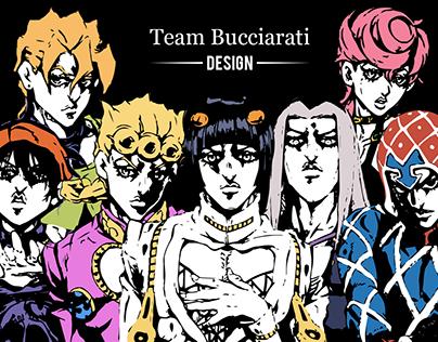 Team Bucciarati Design | Jojo's Bizarre Adventure pt. 5