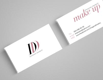 "Visual Identity for MakeUp Artist ""Dragana Draskic"""