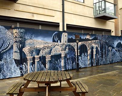 Oxford Castle Mural