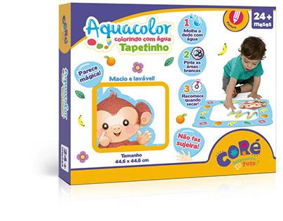 Aquacolor tapetinho | Tapete de pintar | Coré | Toyster