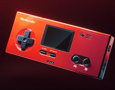 "Nintendo NES ""Elite"" Controller"