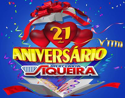 21 ANOS MERCEARIA SIQUEIA