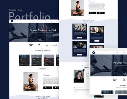 Fitto - Portfolio website