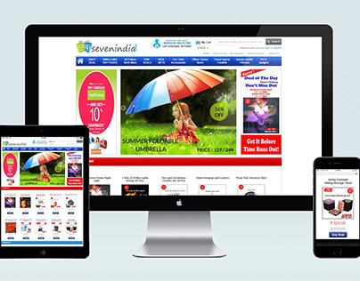 24 / 7 India : Responsive Website (UI, UX)