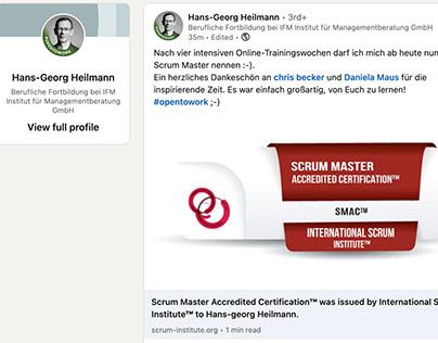 International Scrum Institute, Certified Scrum Masters