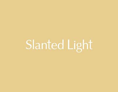 Slanted Light Branding