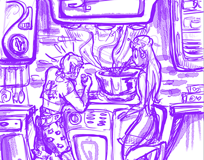 Alien Family Entropic 2-Page Dinner Special !!