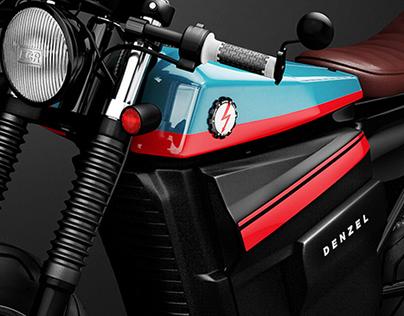 Honda Electric Cafe Racer Design