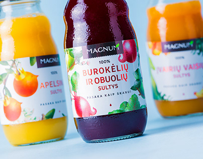 MAGNUM Fruit and Vegetable Juice