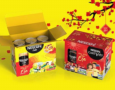 NEscafé Tet gift set - Tet packaging