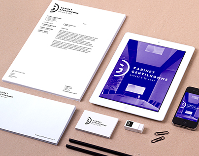 Cabinet Gentilhomme Identity