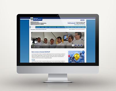 2010 - SEDRAP's Intranet - Rio de Janeiro Government