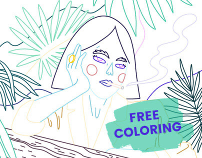 FREE coloring #1