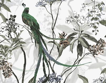 Exotic garden - LIMÉ Collection