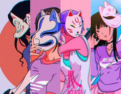 Girls Masks Vol 3