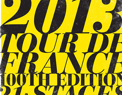 100th Edition of the Tour de France Posters