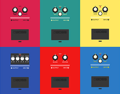 BOSS - PEDAL POSTERS