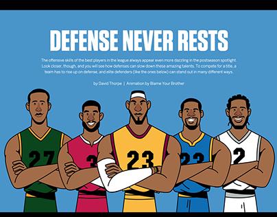 ESPN - Defense Never Rests
