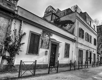 Quartiere il Pigneto a Roma