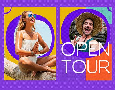 Open Tour - Branding