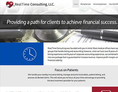 Real Time Consulting Website