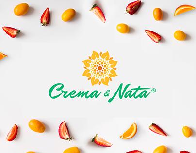 Proyecto Crema y Nata, branding y empaques