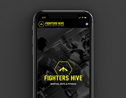 Fighters Hive Website Design