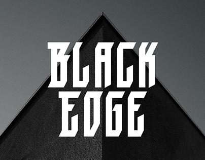 Black Edge - Font
