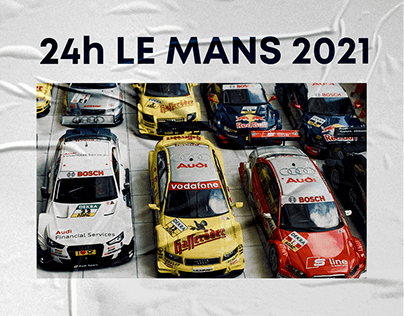 24 Heures of Le Mans — website redesign
