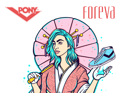 Illustration for Pony / Foreva