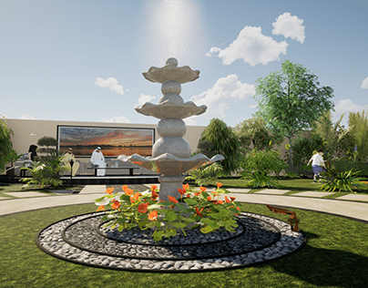 LANDSCAPE DESIGN -MR.SOUD ALNAQBI -FUJAIRAH 2020