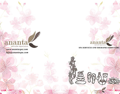 Brochure Design - Ananta Spa
